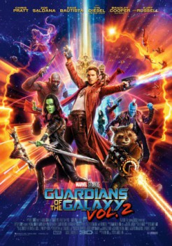poster Guardians of the Galaxy Vol. 2 3D