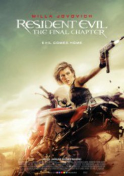poster Resident Evil - The Final Chapter 3D
